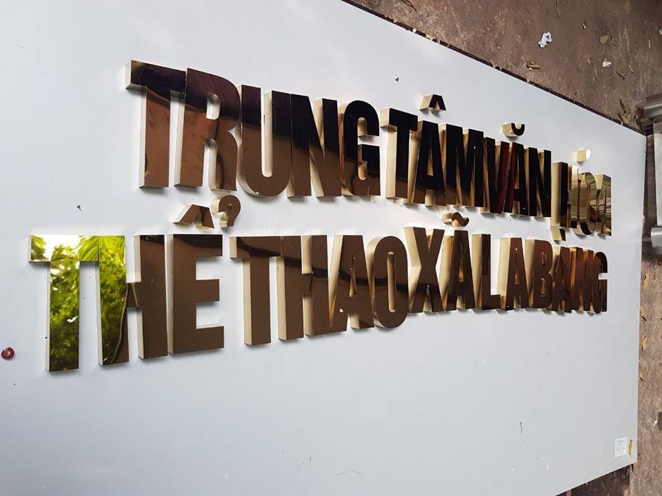 Gia Công Chữ Inox Chuyên Nghiệp Tại TpHCM
