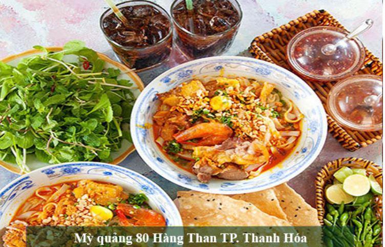 Quán Mì quảng ngon đậm chất xứ Quảng tại Thanh Hóa