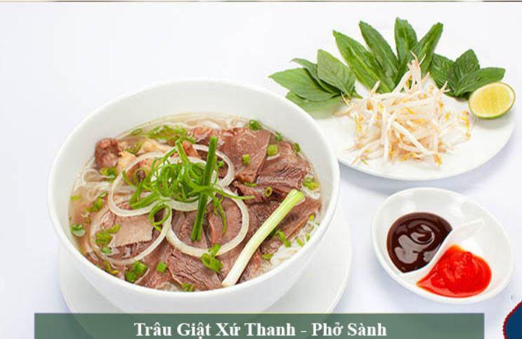 Top các quán phở ngon, an toàn vệ sinh và chất lượng tại Thanh Hóa