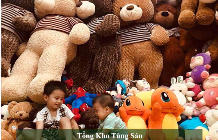 Top 10 Shop gấu bông đa dạng và chất liệu cao cấp tại Thanh Hóa