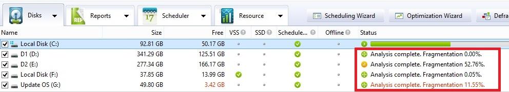 Miễn phí bản quyền Auslogics Disk Defrag: Công cụ chống phân mảnh ổ cứng chuyên nghiệp
