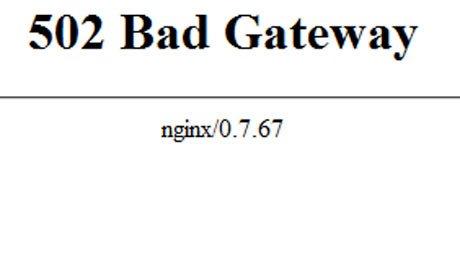 Hướng dẫn sửa lỗi 502 Bad Gateway