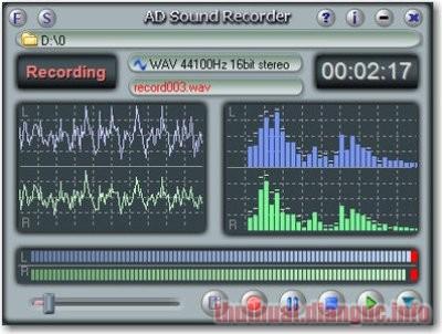 Download AD Sound Recorder 5.7.4 Full Crack