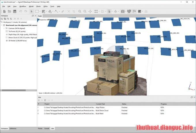 Download Agisoft Metashape Professional 1.5.3 Full Crack