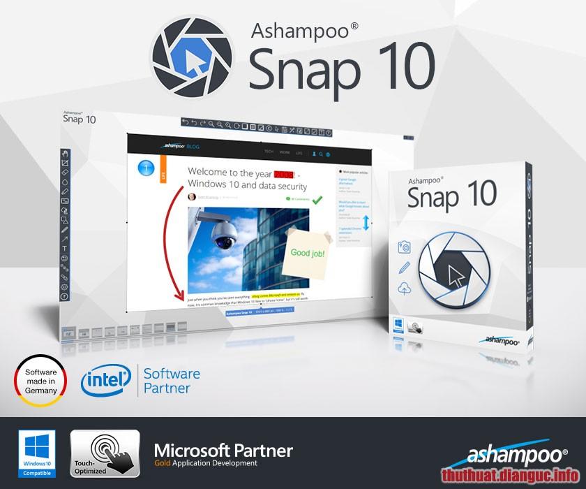 Download Ashampoo Snap 10.1.0 Full Crack