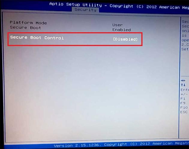 Cách tắt chế độ Secure Boot và mở chế độ Boot Legacy