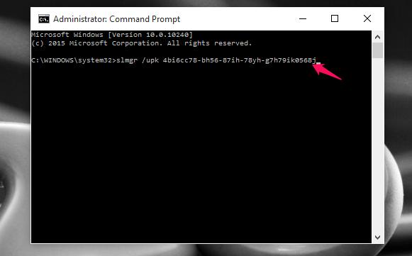 Cách xóa bỏ cài đặt Product key trên máy tính Windows