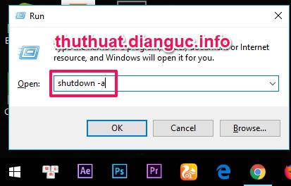 Cách hẹn giờ tắt máy tính laptop win 7 8 8.1 10 XP nhanh bằng lệnh CMD