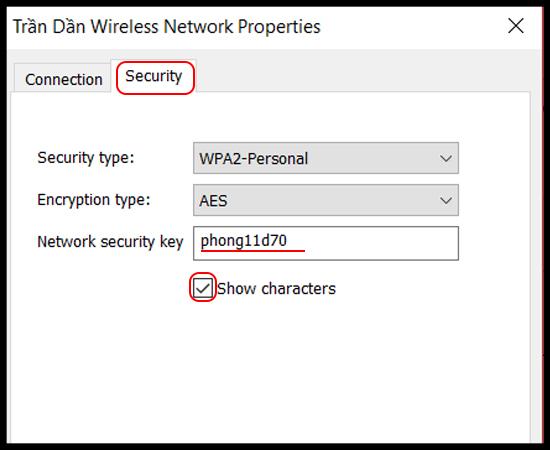 6 bước để xem mật khẩu WiFi đã kết nối trên Windows 10