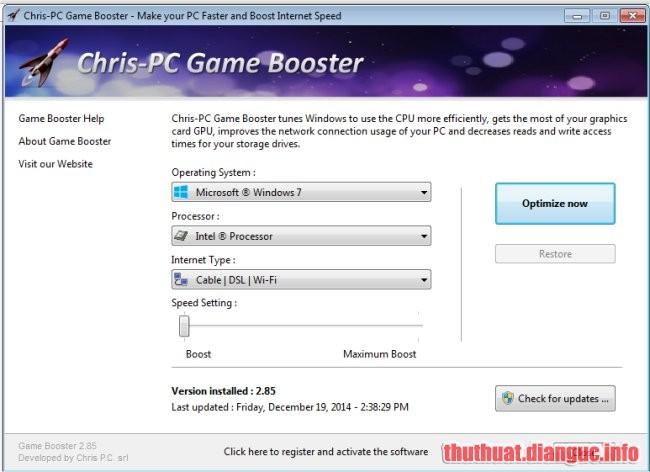 Download Chris-PC Game Booster 5.05 Full Crack, Chris-PC Game Booster, Chris-PC Game Booster free download, Chris-PC Game Booster full key, Chris-PC Game Booster full crack, phần mềm tối ưu hóa chơi game,