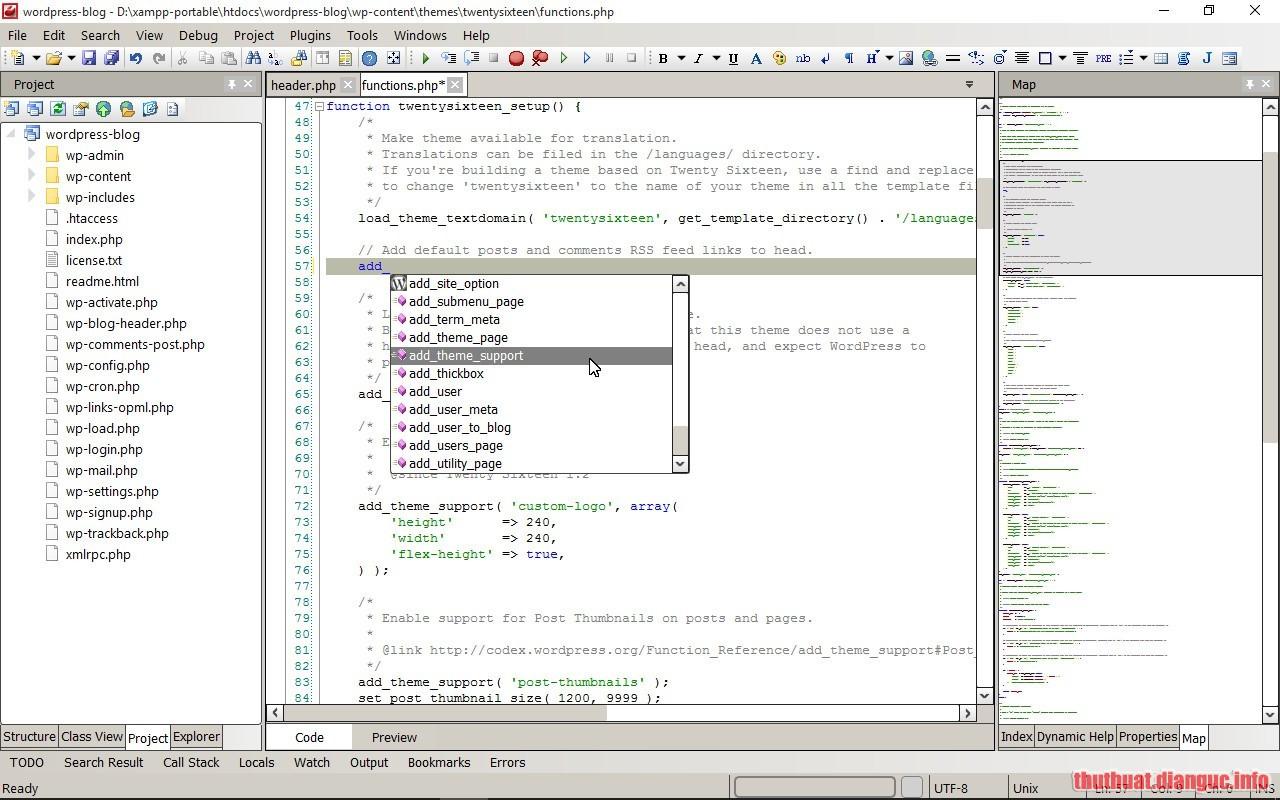 Download CodeLobster IDE Professional 1.6.2 Full Crack
