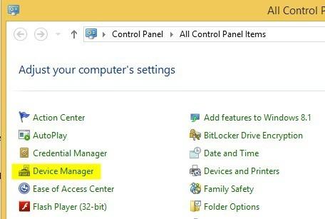Lỗi không chỉnh được độ sáng màn hình sau khi nâng cấp Windows 8.1