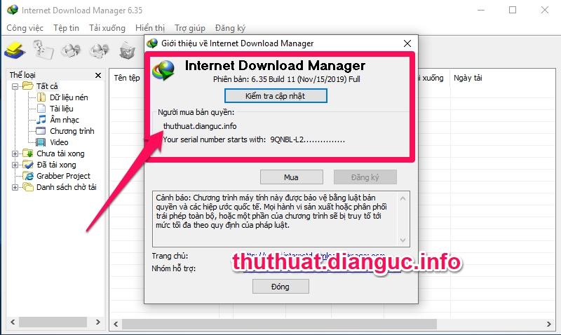 Download IDM 6.35 Build 11 Full Crack mới nhất