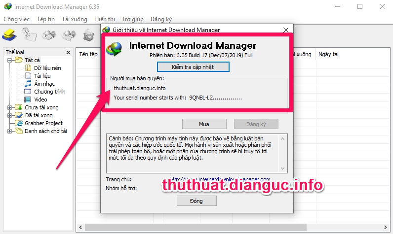 Download IDM 6.35 Build 17 Full Crack mới nhất