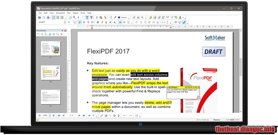 Download SoftMaker FlexiPDF Pro 2019 2.0.5 Full Crack