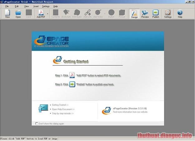 Download ePageCreator 6.1.0.2 Full Crack