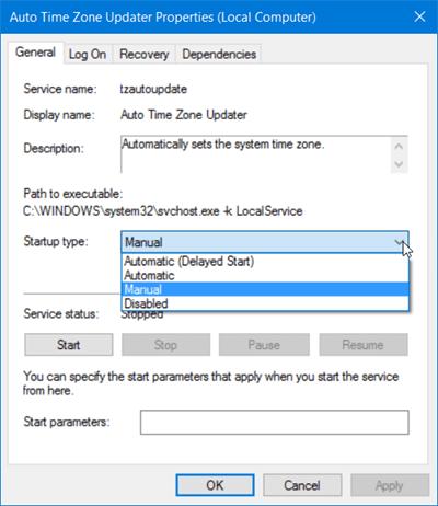 Cách mở Windows Services trên Windows 10/8/7