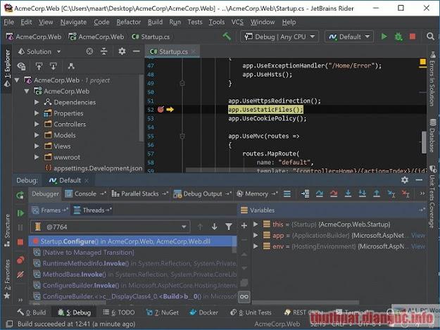 Download JetBrains Rider 2019.2.1 Full Crack, phần mềm quản lý và xây dựng các giải pháp .NET Framework, Mono và .NET Core, JetBrains Rider, JetBrains Rider free download, JetBrains Rider full crack, JetBrains Rider full key