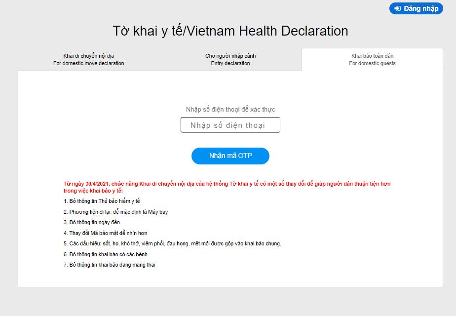Hướng dẫn khai báo y tế trực tuyến bằng cách quét mã QR với ứng dụng Zalo