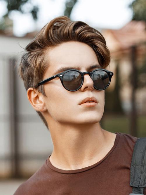 32 Kiểu tóc nam cho mặt tròn phù hợp 2020