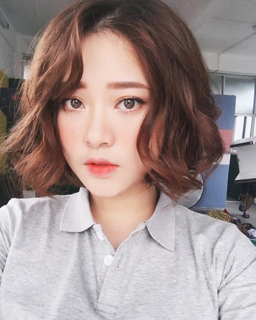 50 Kiểu tóc uốn đẹp 2020 sành điệu