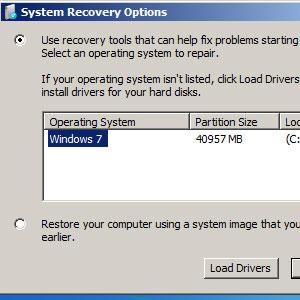 Sửa lỗi khởi động lặp lại trên Windows 7
