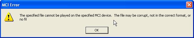 Cách sửa lỗi MCI error khi chèn file nhạc trong powerpoint 2003, 2007, 2010