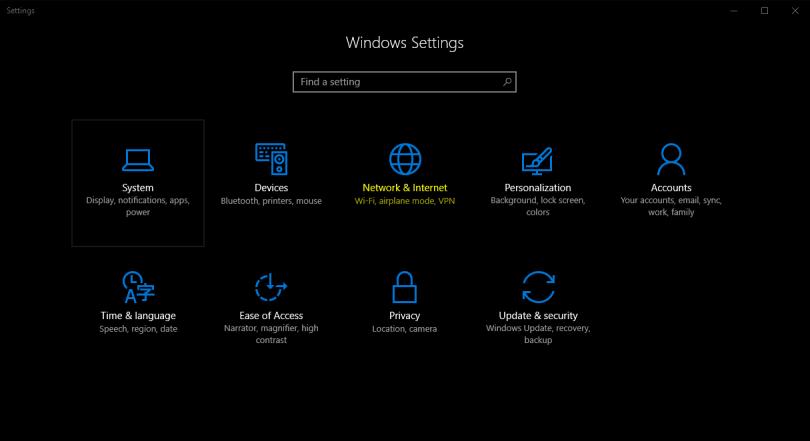 Cách reset lại thiết lập mạng trên windows 10