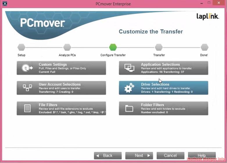 Download PCmover Enterprise 11.1.1010.355 Full Crack
