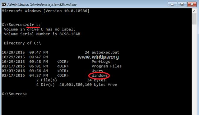 Sửa lỗi file khởi động (file boot) trên phân vùng GPT