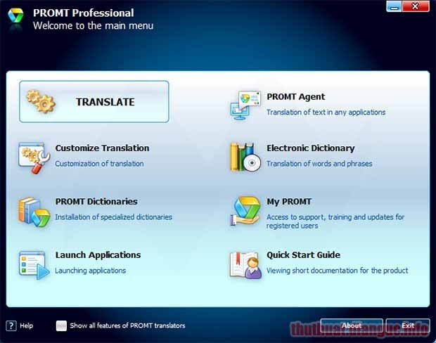 Download PROMT Professional 20 Full Crack