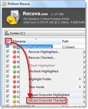 Khôi phục, cứu file bị xóa hoàn toàn với Recuva