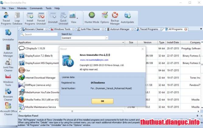 Download Revo Uninstaller Pro 4.1.5 Full Crack, phần mềm gỡ ứng dụng máy tính, Revo Uninstaller Pro, Revo Uninstaller Pro free download, Revo Uninstaller Pro full key, Revo Uninstaller Pro full crack