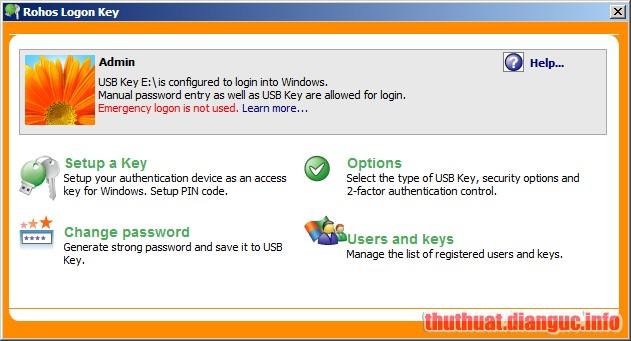 Download Rohos Logon Key 4.3 Full Crack