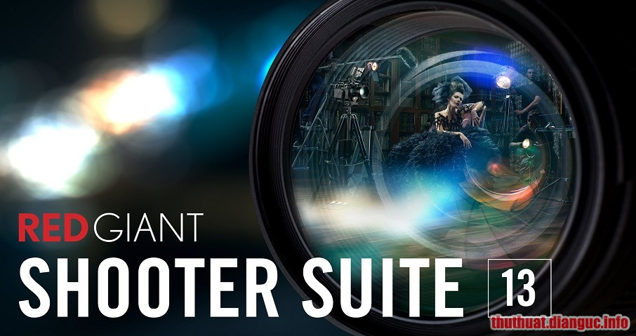 Download Red Giant Shooter Suite 13.1.9 Full Crack
