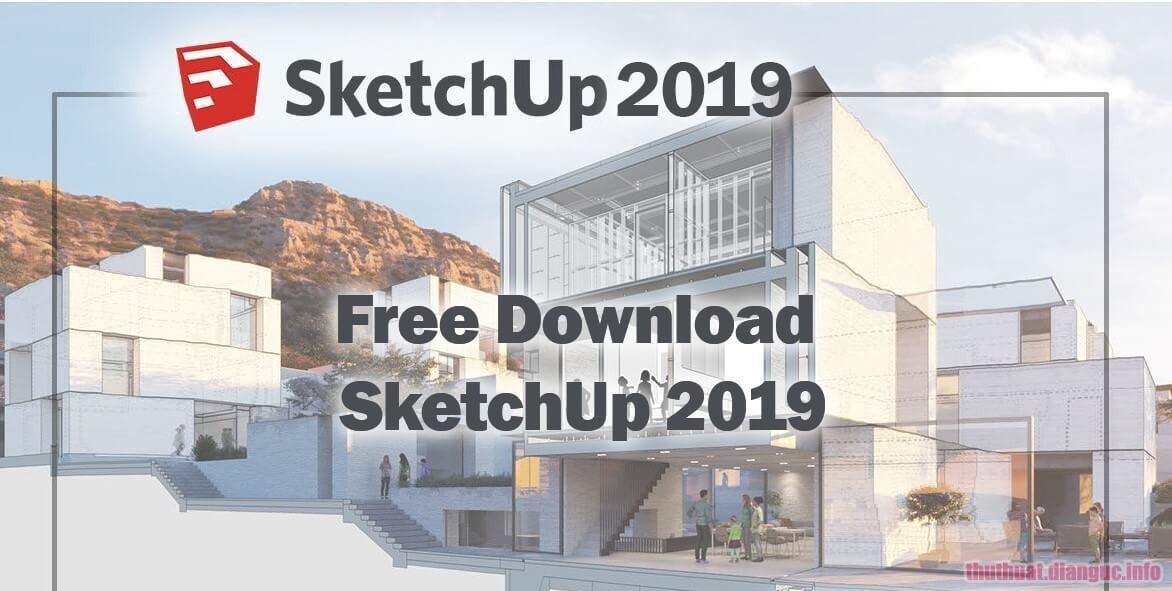 Download SketchUp Pro 2019 V19.2.222 Full Crack