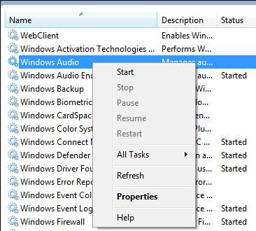 Sửa lỗi mất tiếng bất chợt khi xem video trên Windows