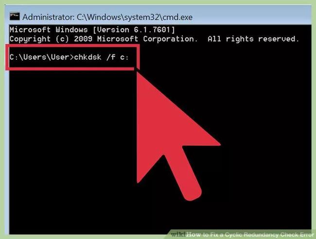 Nhập lệnh vào cửa sổ Command Prompt