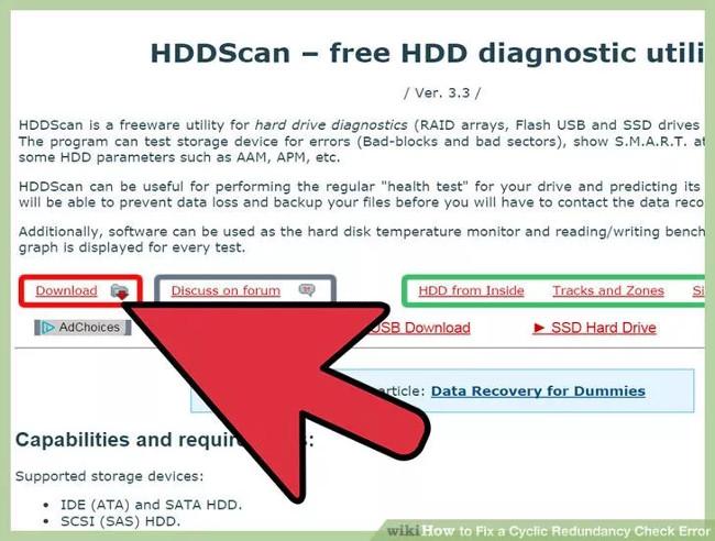 Cài đặt tiện ích Disk Utility