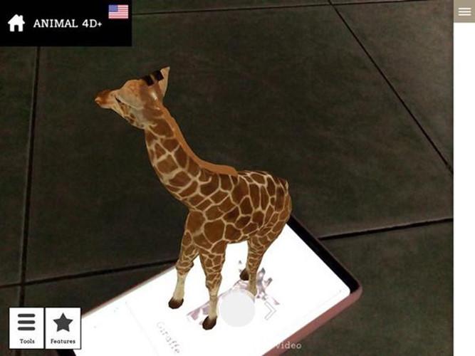 Hướng dẫn sử dụng Animal 4D+ tạo con vật trên màn hình điện thoại, HƯỚNG DẪN CÁCH TẢI VÀ SỬ DỤNG APP ANIMAL 4D+ trên điện thoại, Cách dùng Animal 4D tạo con vật 4D trên điện thoại, Cách sử dụng App Animal 4D tạo con vật trên màn hình điện thoại, Dùng Animal 4D tạo con vật trên màn hình điện thoại như thế nào