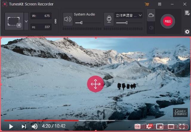 Download TunesKit Screen Recorder 1.0.1 Full Crack