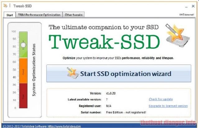 Download Tweak-SSD 2.0.70 Full Crack, phần mềm tối ưu hóa ổ SSD, Tweak-SSD, Tweak-SSD free download, Tweak-SSD full crack, Tweak-SSD full key