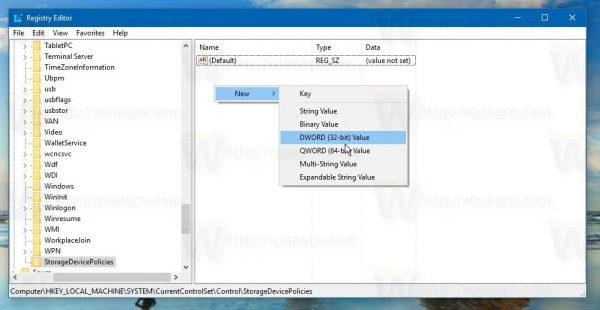 """Kích hoạt chế độ """"Write Protection"""" của USB trên Windows 10"""