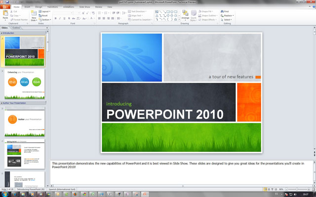 Thủ thuật làm slide trình diễn trong PowerPoint 2010