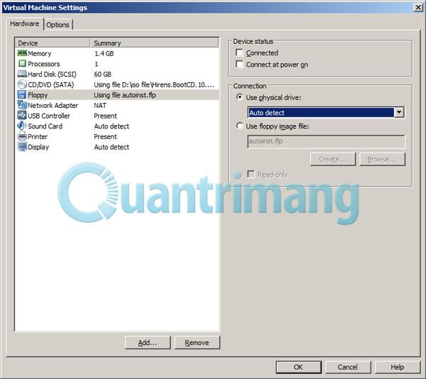 Hướng dẫn sửa lỗi không cài được VMware Tools