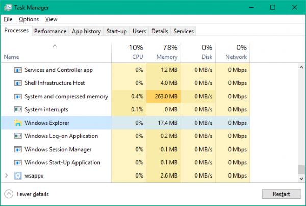 Taskbar trên Windows 10 không hoạt động, đây là cách khắc phục