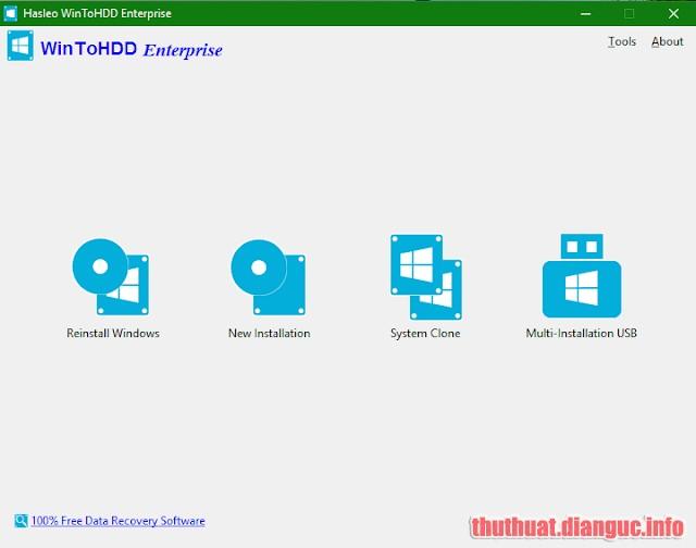 Download WinToHDD Enterprise 3.8 Release 1 Full Crack