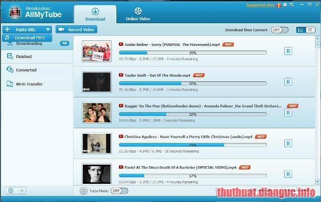 Download Wondershare AllMyTube 7.4.5.0 Full Crack
