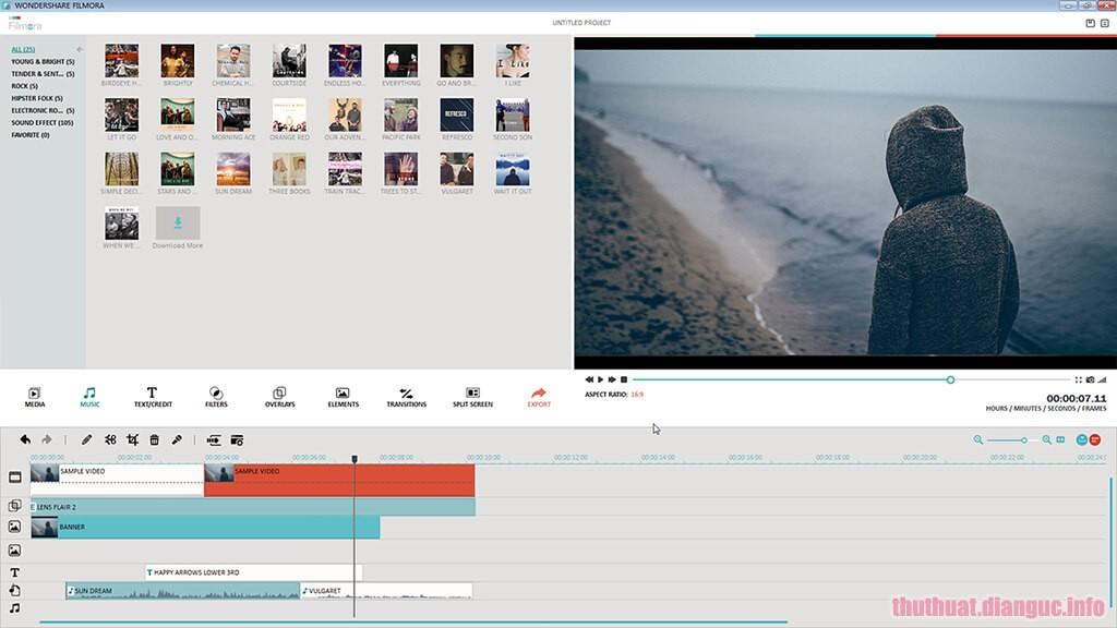 Download Wondershare Filmora 7.8.9.1 Windows 32bit Full Crack, Biên tập video bằng clip tự chế, tập tin âm thanh và hình ảnh, Wondershare Filmora, Wondershare Filmora free download, Wondershare Filmora full key